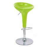 Nathalie Adjustable Height Swivel Bar Stool by Wrought Studio™