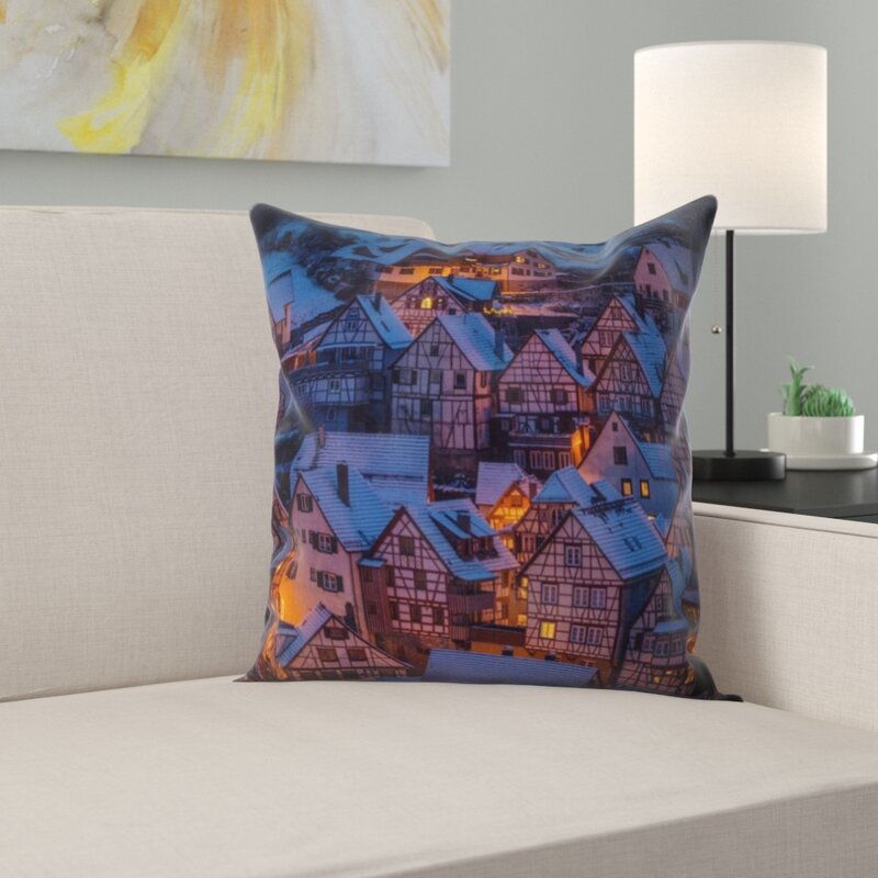 East Urban Home Architecture Throw Pillow Wayfair