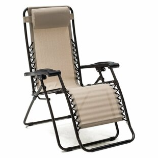 Latitude Run Koopman Décor Reclining/Folding Zero Gravity Chair (Set of 2)