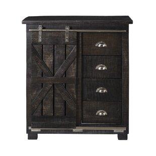 Albany 4 Drawer 1 Sliding Door Cabinet