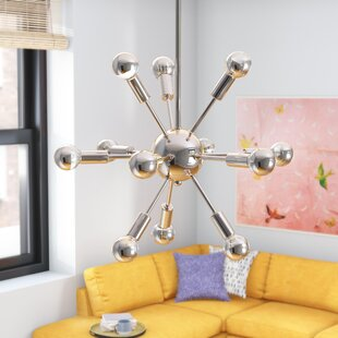 Brayden Studio Zimmerman 12-Light Chandelier