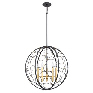 Belgrave 5-Light Globe Pendant by Mercer41
