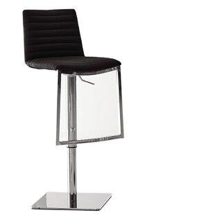 London Adjustable Height Bar Stool by Bellini Modern Living