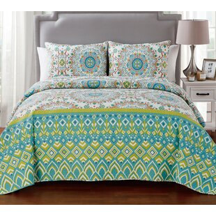 Rayshawn 3 Piece Quilt Set