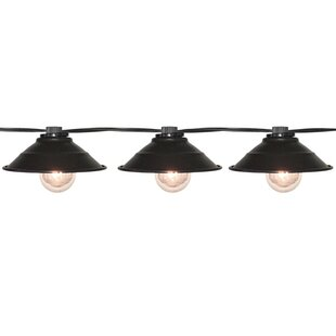 9 ft. 10-Light Shaded String Light by Penn Distributing