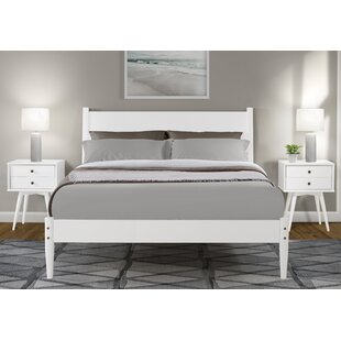 Compare Broadbent Mid-Century Platform Bed by George Oliver Reviews (2019) & Buyer's Guide