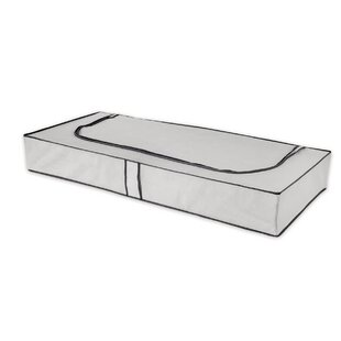 Compactor World Of Storage Extra Flat Fabric Underbed Storage (Set Of 6) By Rebrilliant