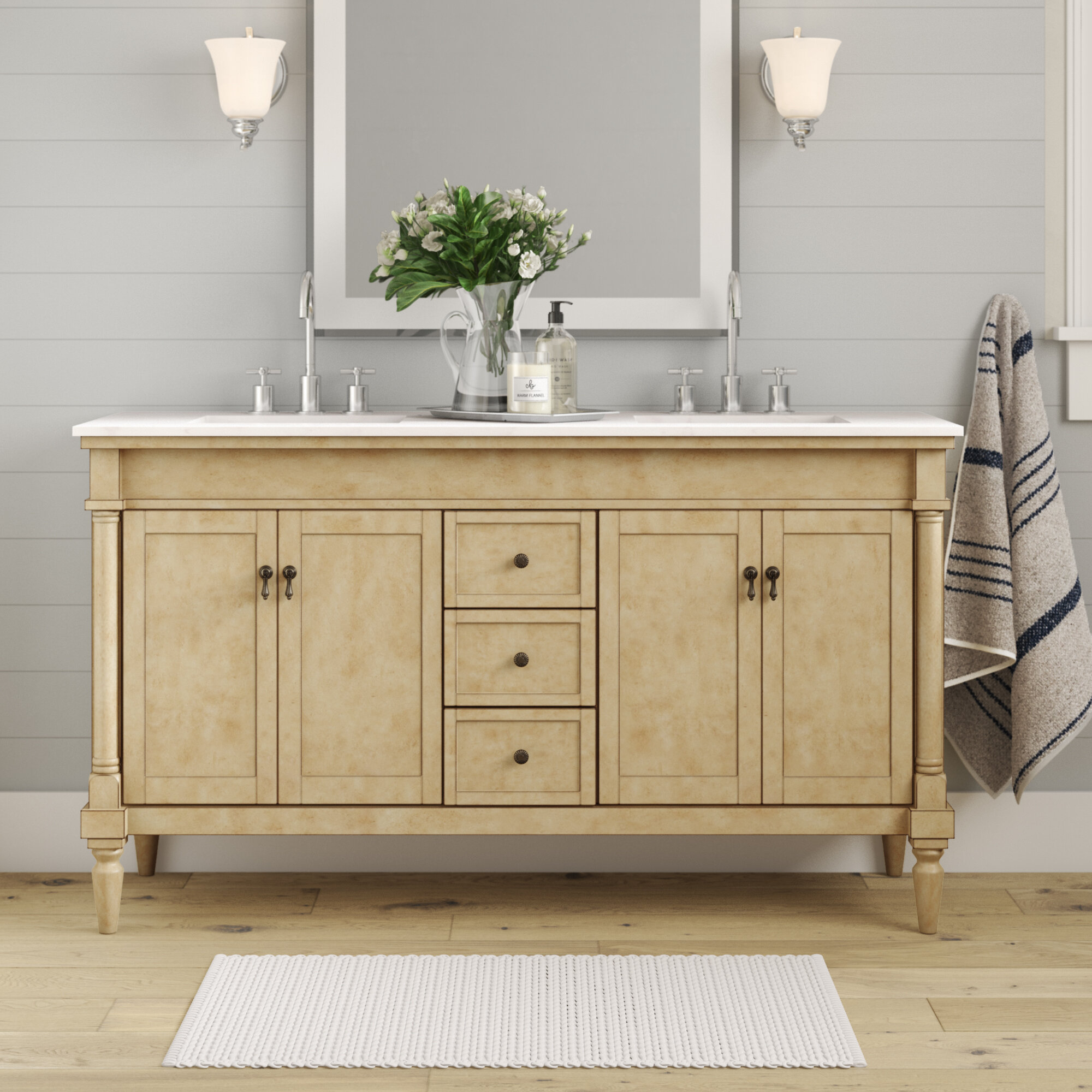 Deina 60 Double Bathroom Vanity Set Reviews Joss Main