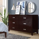 Rushmere 6 Drawer Double Dresser by Latitude Run®