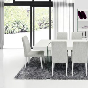 Orren Ellis Clower Contemporary Parsons Chair (Set of 2)