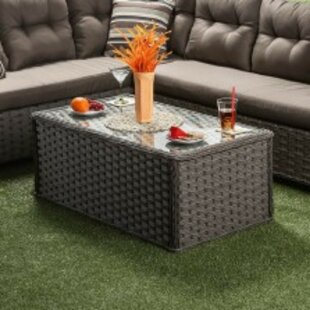 Askov Wicker Coffee Table