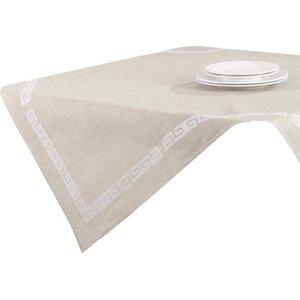 Glenfield Stitched Greek Key Tablecloth