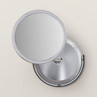 Symple Stuff Luann Double Vision Gooseneck Mirror