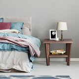 Marchetti P2 Particle Board Nightstand in Walnut by Millwood Pines