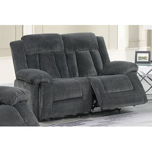 Lomba Chenille Reclining 65 Pillow top Arm Loveseat