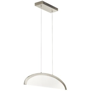 Orren Ellis Ruck 1-Light LED Geometric Pendant