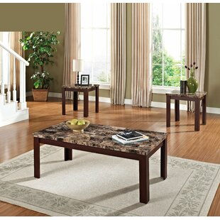 Marcelino 3 Piece Coffee Table Set