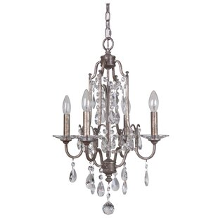 Mariana Home Adorned 4-Light Candle Style..