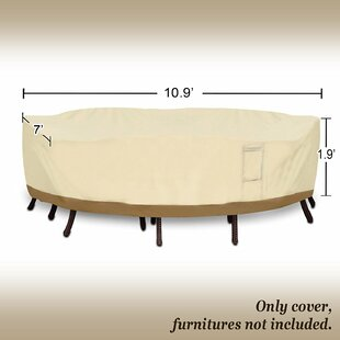 Freeport Park Rectangular Patio Garden Chair/Table Cover