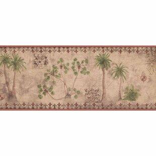 Holcomb Palm Tree 15 L X 8 W Wallpaper Border