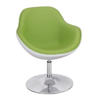 Adeco Trading Swivel Lounge Chair