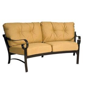 Woodard Belden Crescent Patio Sofa