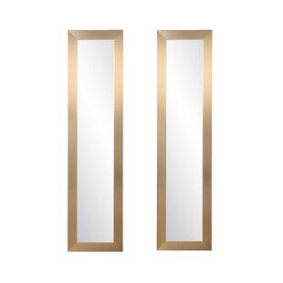 Read Reviews Arterburn Full Length Mirror (Set of 2) ByOrren Ellis