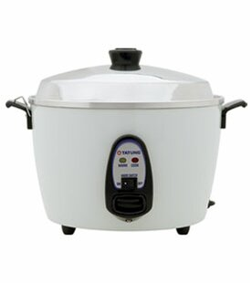 6-Cup Multifunction Indirect Heat Rice Cooker Steamer And Warmer by Tatung Fresh