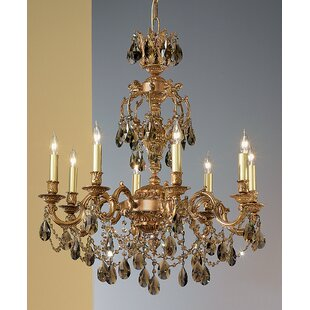 Chateau Imperial 8-Light Candle Style Chandelier by Classic Lighting