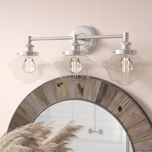 Hildred 3-Light LED Vanity Light By Laurel Foundry Modern Farmhouse