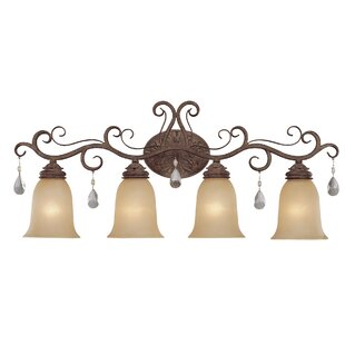 Lilliane 4-Light Vanity Light By Astoria Grand