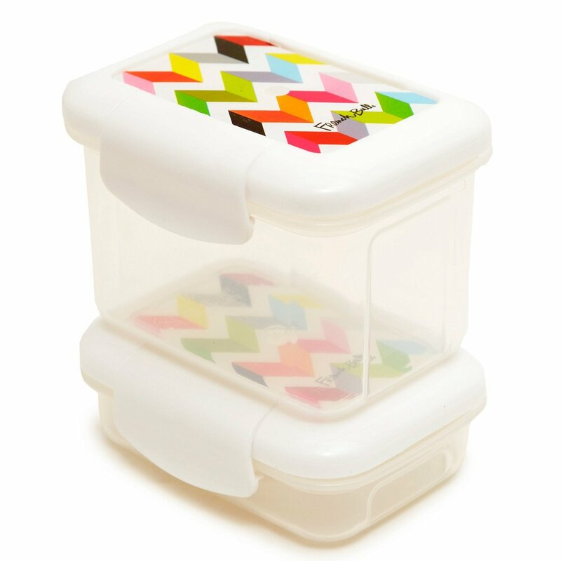 French Bull Ziggy Snack 2 Container Food Storage Set