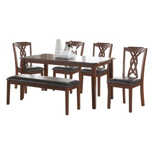 Clarafield 6 Piece Dining Set by Fleur De..