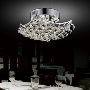 Ian 6-Light Semi Flush Mount by Mercer41