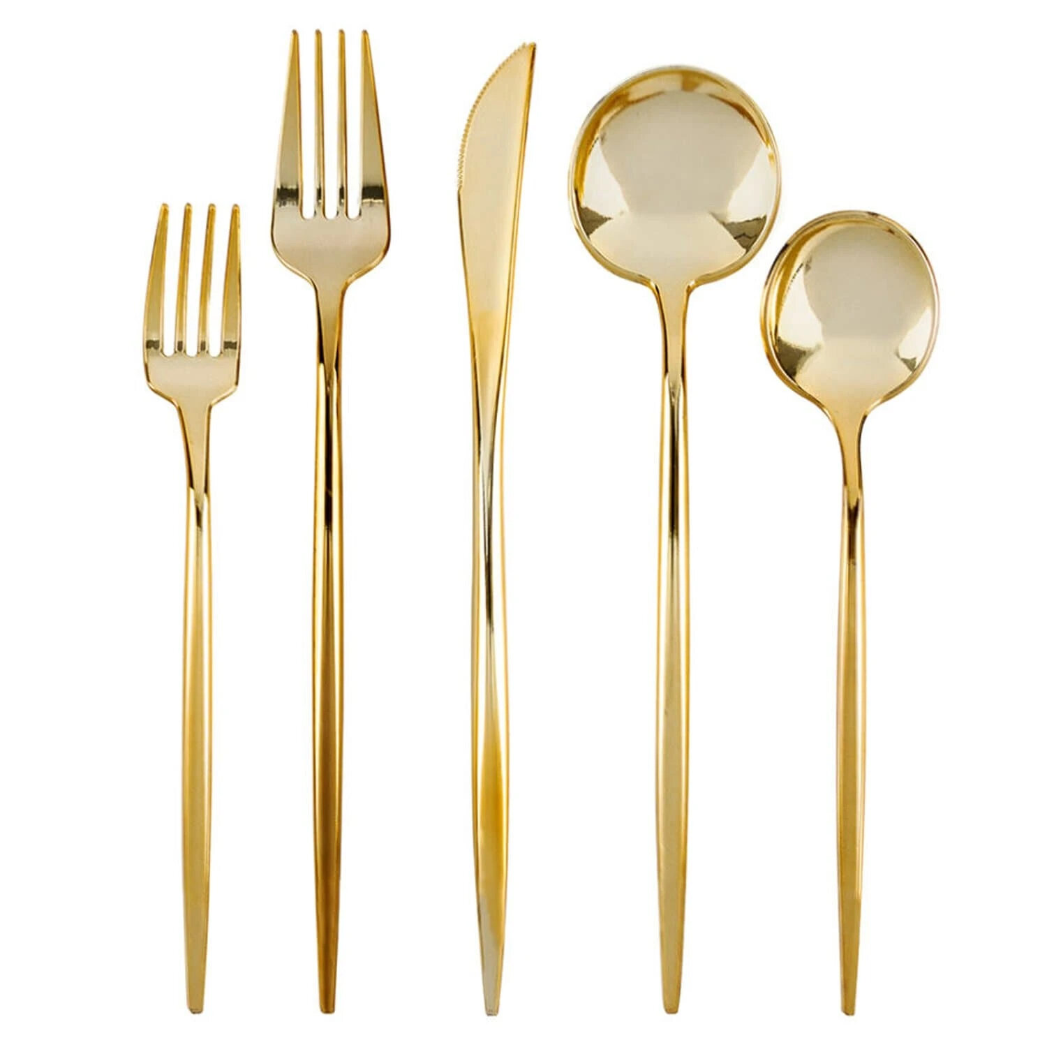 Gold Mercer41 Flatware Sets You Ll Love In 2021 Wayfair