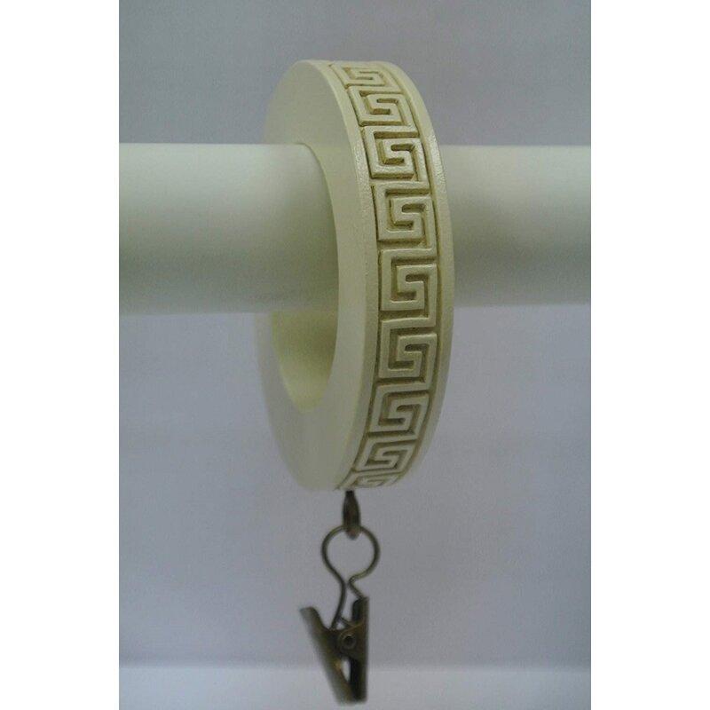 Bloomsbury Market Eminence Greek Key Designer Curtain Ring Wayfair
