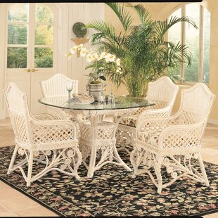 Gazebo 5 Piece Dining Set Yesteryear Wicker