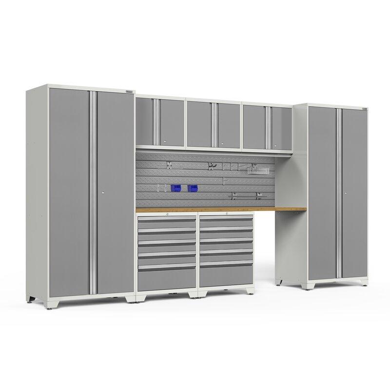 Newage Products Pro 3 0 Series 8 Piece Cabinet Set Wayfair