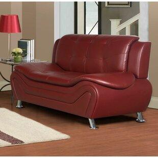 Orren Ellis Machelle Modern Living Room Loveseat
