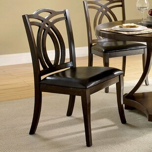 Red Barrel Studio Jennilee Solid Wood Dining Chair (Set of 2)