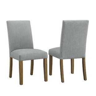 Gracie Oaks Veazey Upholstered Dining Chair (Set of 2)