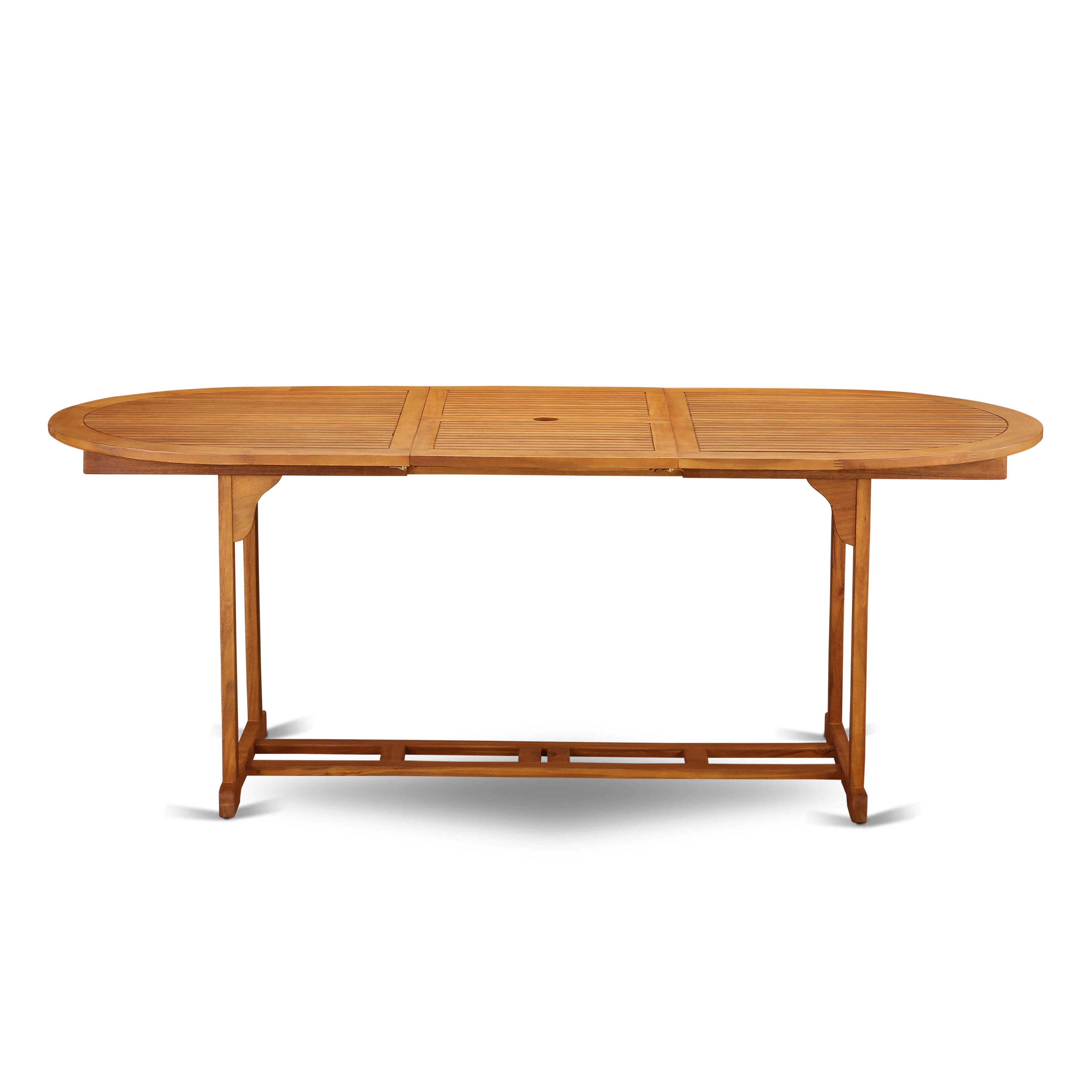 Longshore Tides Rahul Solid Wood Dining Table Reviews Wayfair