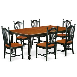 Pimentel Modern 7 Piece Dining Set by August Grove