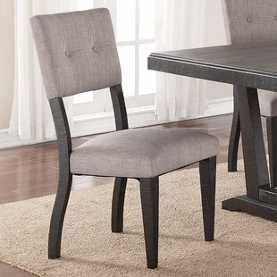 Mettler Relaxed Upholstered Dining Chair Set of 2 by Charlton Home