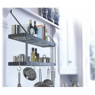 Custom Wall Mounted Double Pot Rack