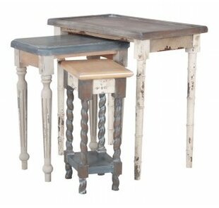 Berniss 3 Piece Nesting Tables by Bloomsbury Market