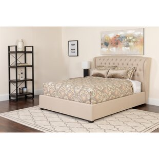Amann Tufted Upholstered Platform Bed