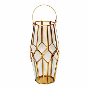 Shop For Antique Glass/Metal Lantern By Wrought Studio