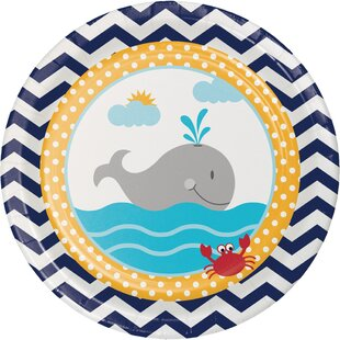 Ahoy Matey Nautical Paper Appetizer Plate (Set of 24)