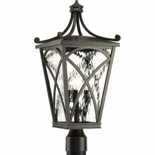 Need Guzzi Outdoor 4 Light Lantern Head By Fleur De Lis Living Amazing Price